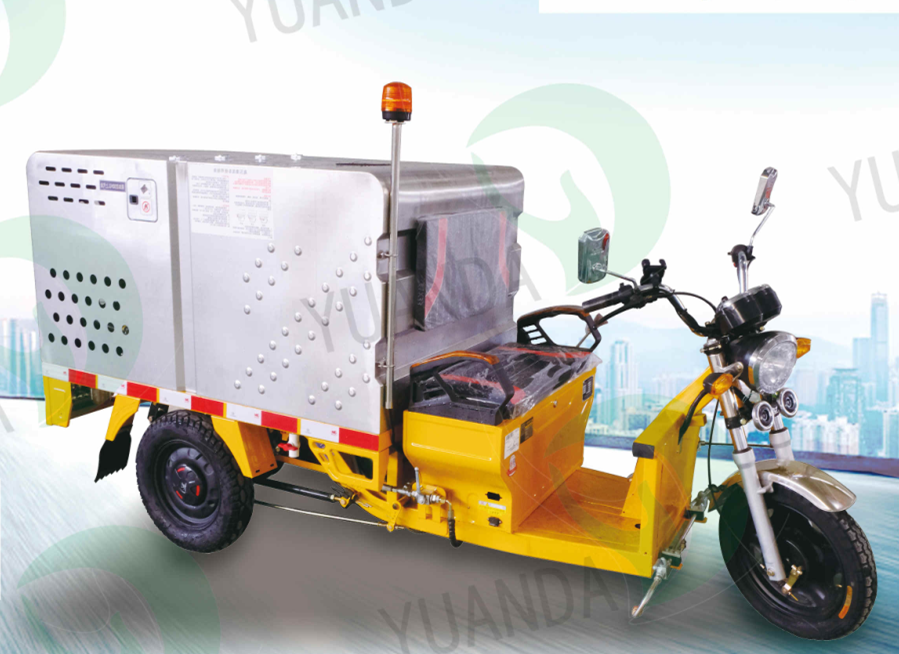 YD3QX0500B1 Electric Tricycle Flushing Truck