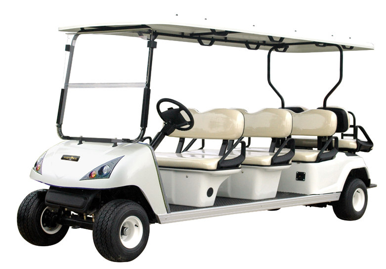 Sightseeing car YD4GG08A2 Eight-seater golf cart