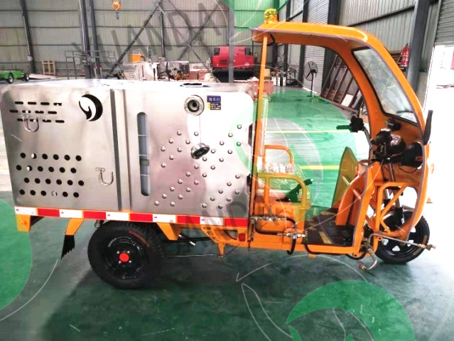 YD3QX0500B2 Electric Tricycle Flushing Truck